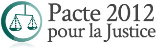 Pacte 2012 pour la justice